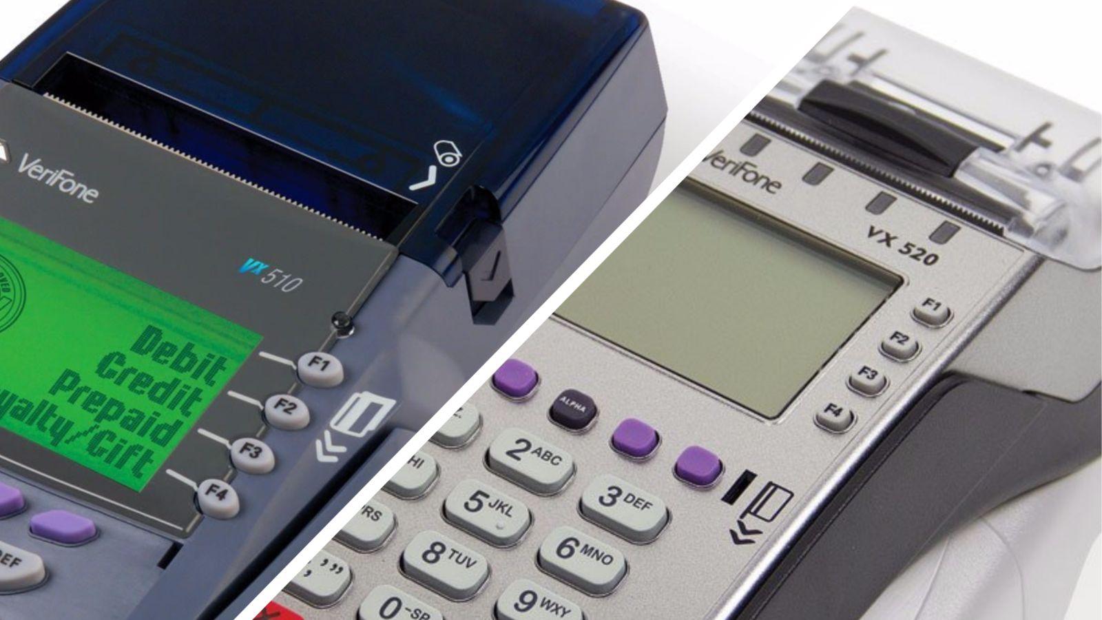Сравниваем POS-терминалы Verifone Vx510 и Vx520