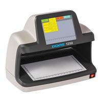Универсальный просмотровый детектор валют DORS 1250