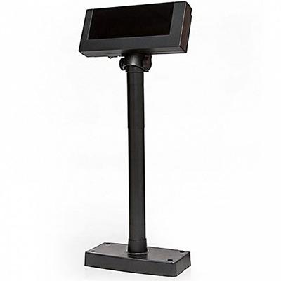 Дисплей покупателя Flytech 2x20 VFD черный (на подставке, с внешним блоком питания)