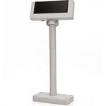 Дисплей покупателя Flytech 2x20 VFD белый (на подставке, с в...