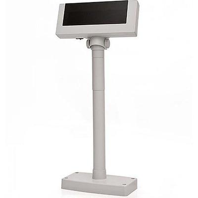 Дисплей покупателя Flytech 2x20 VFD белый (на подставке, с внешним блоком питания)