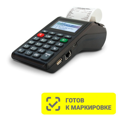 Онлайн-касса АТОЛ 91Ф Черный 5.0 без ФН (Ethernet, 2G, Bluetooth, Wi-Fi)