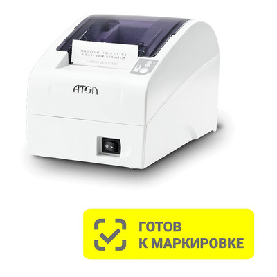Онлайн-касса АТОЛ FPrint-22ПТК Белый RS-232 USB Ethernet с ФН 15 мес и ОФД