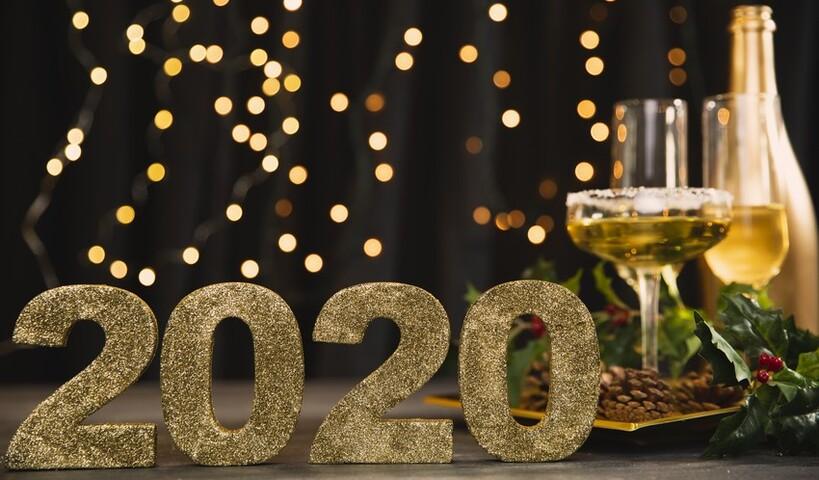 Поздравляем с Новым 2020 годом!