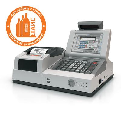 POS-система Штрих-М Штрих-LightPOS WinCE 6.0 001 R2 (серый) с ККТ Штрих-М-01Ф с ФН