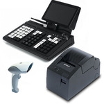 POS-система Штрих-М Штрих-УТМ KB66 (Кассир miniPOS, 7, Z3735F) + Сканер, Штрих-Лайт-01Ф