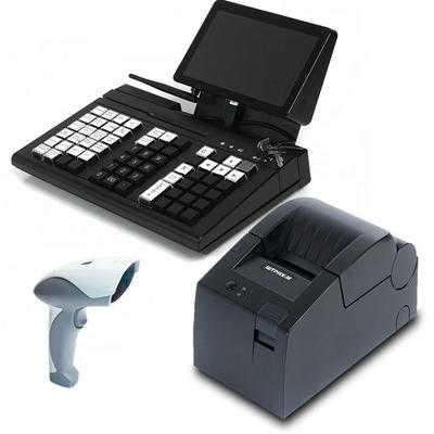 POS-система Штрих-М Штрих-УТМ KB66 (Кассир miniPOS, 8.9, Z3735F) + Сканер, Штрих-М-01Ф