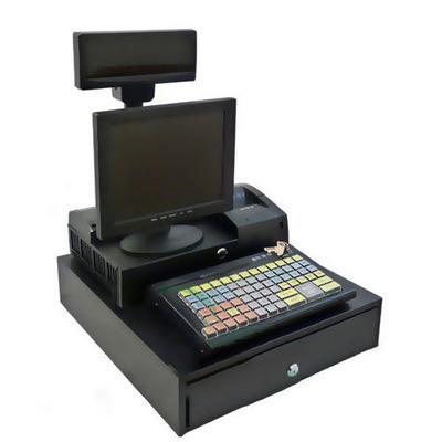 POS-Система Штрих-М Надежная Штрих-POS-Атом (J1900, 2 Гб, SSD 120 Гб) черная
