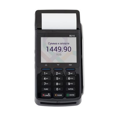 POS-терминал PAX D210 GPRS BT WiFi CTLS б/у