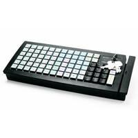 Программируемая клавиатура Posiflex KB-6600B черная c ридеро...