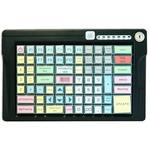 Программируемая клавиатура POSUA LPOS-084-Mxx USB с ключом (черный)