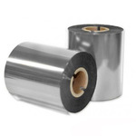 Красящая лента TS RESIN (X-foil) серебро 300-100-100-1-out