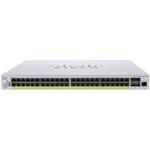 Коммутатор Cisco CBS350 Managed 48-port GE, PoE, 4x10G SFP+ (CBS350-48P-4X-EU)