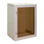 """Настенный шкаф Ижтехноком 19"""" 15U (560 x 400 x 710) дверь стекло"""
