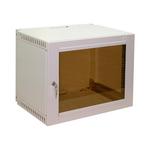 """Настенный шкаф Ижтехноком 19"""" 9U (560 x 400 x 450) дверь стекло"""