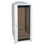 """Напольный шкаф Ижтехноком 19"""" 24U (600 x 1000 x 1300) дверь стекло/металл"""