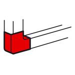 Плоский угол Legrand для кабель-каналов Metra 130x50
