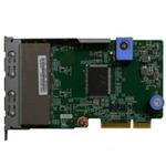 Сетевая карта Lenovo 7ZT7A00545 TCh ThinkSystem 1Gb 4-port RJ45 LOM