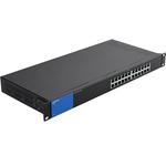 Коммуникатор Linksys 24-портовый, Gigabit (LGS124-eu)