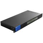Коммуникатор Linksys 24-портовый, Gigabit, PoE (LGS124P-eu)