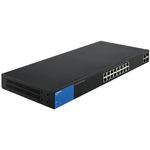 Коммуникатор Linksys 18-портовый, Gigabit, PoE, Smart (LGS318P-eu)