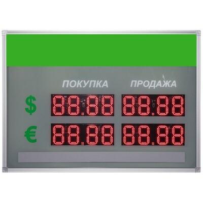 Уличное табло котировок валют Kobell TEN1-90