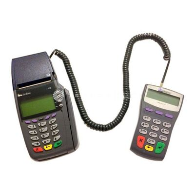 POS-терминал VeriFone Vx510 Ethernet c пин-падом PP1000SE б/у