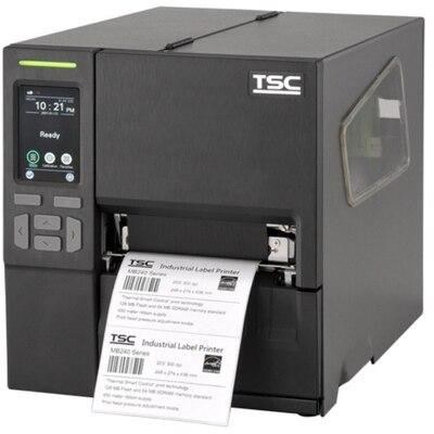 Принтер этикеток TSC MB340T (Touch LCD) SU + Ethernet + USB Host + RTC с намотчиком