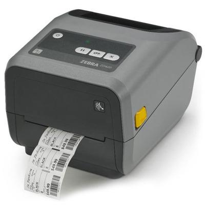Картриджный принтер этикеток начального класса Zebra ZD420 TT (USB+Host, BTLE, Ethernet)