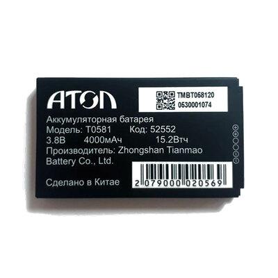 Аккумулятор 4000 mAh для АТОЛ Smart.Slim
