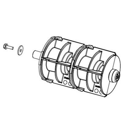 Втулка в сборе Honeywell DPR78-2623-01